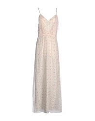 Girl By Band Of Outsiders Long Dresses Ivory