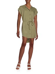 Saks Fifth Avenue Red Rayna Hi Lo Shirtdress Terrain
