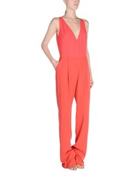 Ki6 Who Are You Jumpsuits Red