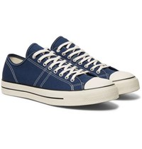 Converse Lucky Star Canvas Sneakers Navy