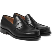 Church's Wesley Leather Penny Loafers Black