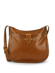 Frye Olivia Large Leather Crossbody Bag Ice