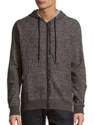 Tavik Recruit Fleece Heathered Hoodie Heather Grey