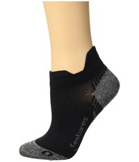 Feetures Plantar Fasciitis Relief Ultra Light No Show Tab Black No Show Socks Shoes