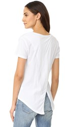 Bobi Pocket Tee White