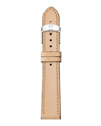 Michele 16Mm Calfskin Watch Strap Tan