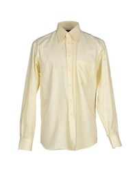 Xacus Shirts Shirts Men Light Yellow