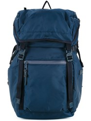 As2ov Fold Over Top Backpack Men Nylon One Size Blue