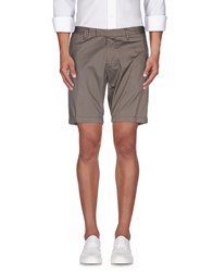 Messagerie Trousers Bermuda Shorts Men Black