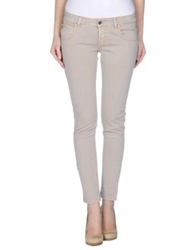 Maison Clochard Denim Pants Dove Grey