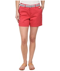 Dockers Petite The Essential Shorts Claret Red Women's Shorts