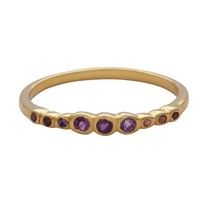Carousel Jewels Multi Amethyst Stacking Ring