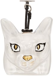 Loewe Transparent Cat Bag Charm