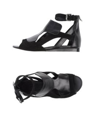 Neil Barrett Sandals Black