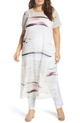 Vince Camuto Plus Size Women's Floating Whispers Long Tunic