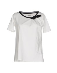 Alpha Studio Topwear T Shirts Women White