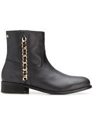 Tommy Hilfiger Chain Detail Boots Black