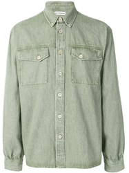 Gosha Rubchinskiy Button Up Shirt Green