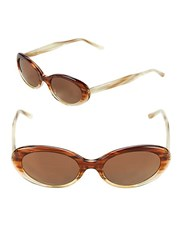 Vera Wang 51Mm Butterfly Sunglasses Brown