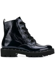 Kennel Schmenger And Ankle Lace Up Boots Blue
