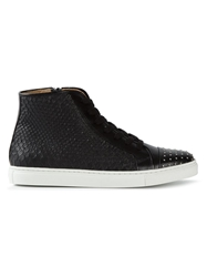Thakoon Addition 'Elga' Hi Top Sneakers Black