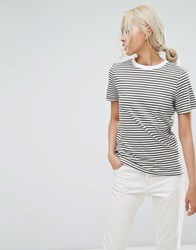 Selected My Perfect Tee Multi Green