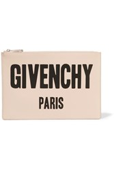 Givenchy Printed Leather Pouch Blush