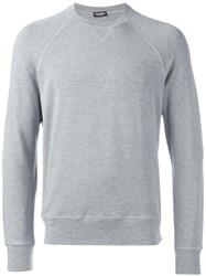 Dsquared2 Basic Crew Neck Sweatshirt Grey