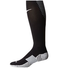 Nike Matchfit Over The Calf Team Socks Black Cool Grey White Knee High Socks Shoes