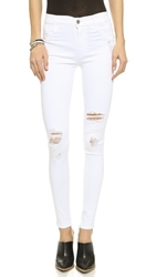James Jeans Twiggy Ultra Flex Legging Jeans White Clean Distressed