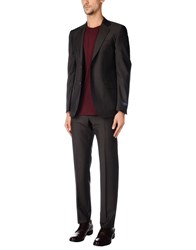 Tombolini Suits And Jackets Suits Dark Brown