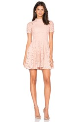 Lover Oasis Fit And Flare Mini Dress Blush