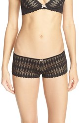 Women's Heidi Klum Intimates 'Dreamtime' Lace Boyshorts Black