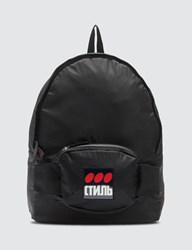 Heron Preston Fanny Backpack Black