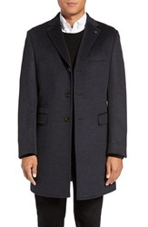 Ted Baker Men's London 'Alaska' Trim Fit Wool And Cashmere Overcoat