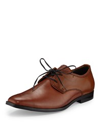 Andrew Marc New York Leather Square Toe Oxford Maple Black Brown Black Women's