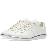 Maison Martin Margiela 22 Replica Low Silver Sole Sneaker White