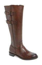 Ecco Shape 25 Tall Buckle Boot Bison Leather