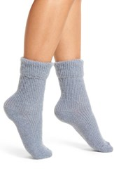 Urban Knit Women's 'Tot' Crew Socks Powder Blue