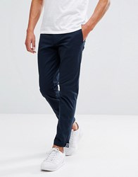 Original Penguin Slim Fit Chinos In Navy Dark Sapphire