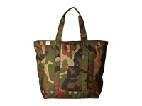 Herschel Bamfield Mid Volume Woodland Camo Tote Handbags Multi