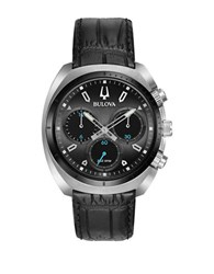 Bulova Curv Chronograph Watch 98A162 Black