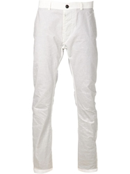 Y Project 'Two Tone' Trousers White