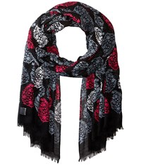 Vera Bradley Soft Fringe Scarf Northern Lights Scarves White