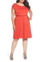 Dorothy Perkins Plus Size Women's Jersey A Line Dress