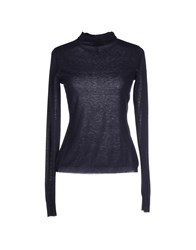 Armani Jeans Turtlenecks Dark Blue