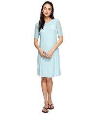 Aventura Clothing Wyatt Dress Aqua Haze Women's Dress Blue
