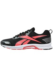 Reebok Triplehall 6.0 Neutral Running Shoes Black Fire Coral White