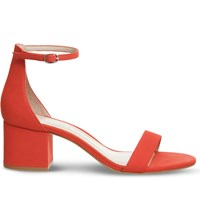Office Finley Suede Sandals Red Nubuck