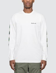 Mhi Maharishi Pax Cultura Long Sleeve T Shirt White